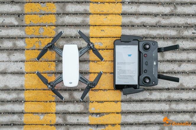 9 DJI Spark Drone and Controller QuadCopter UAV Small Mini-1008