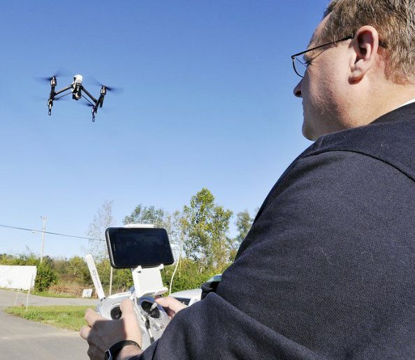 Drone with infrared camera aids in search for Summitville teenager0000