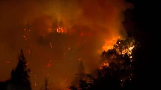 Firefighting air operations briefly suspended after drone sighting 5