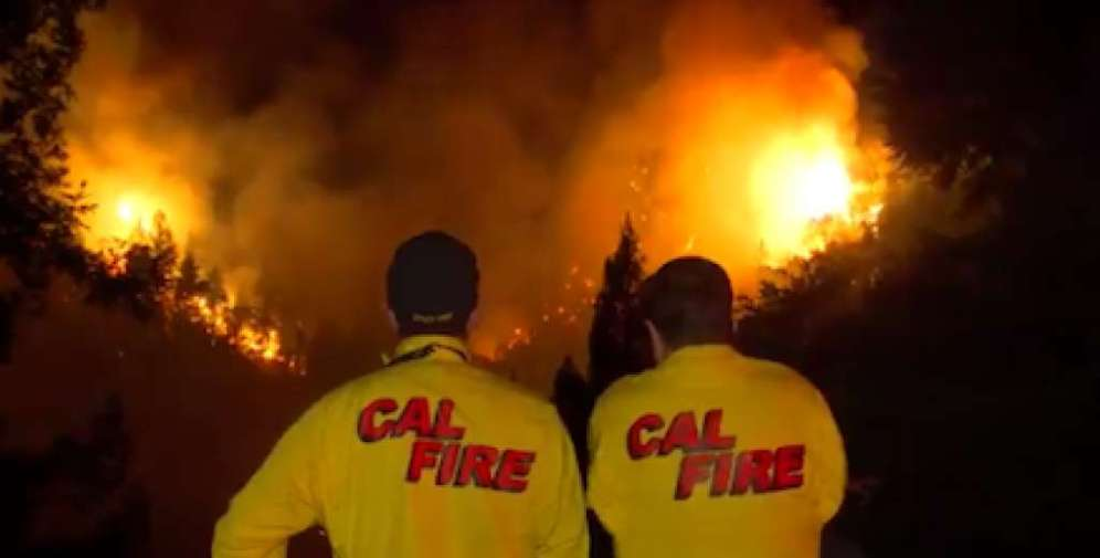 Firefighting air operations briefly suspended after drone sighting 6