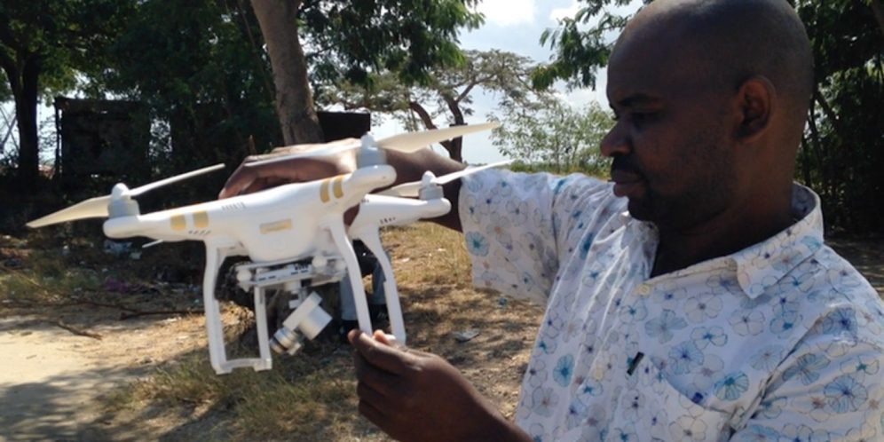 Drones are taking the fight to malaria carrying mosquitos in Tanzania 0000