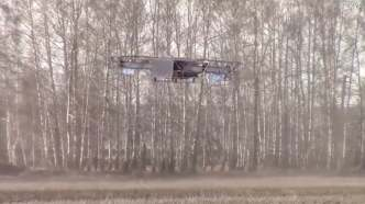 Russia is known for having built the largest airplane, the Antonov An-225, the largest helicopter, the MiL V12, the largest submarine, the Typhoon class and now they are working on building a massive drone. The drone is called the SYF and is designed to carry a 400-pound payload and to fly for up to eight hours. The drone, designed by Russian company ARDN technology, has a maximum speed of 43.5 mph. The SKYF drone was designed specifically with logistics and agriculture in mind.