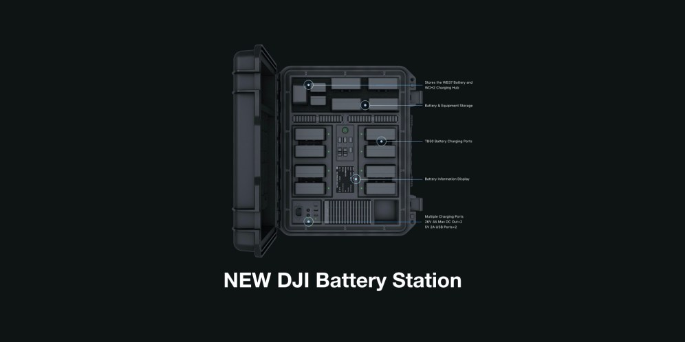 DJI introduces new DJI Battery Station for professional filmmakers 0000