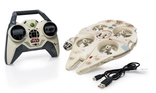 The Millennium Falcon drone tooth pull - video