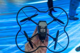 Intel shows off with 100 tiny drones flying inside at CES 2018 2