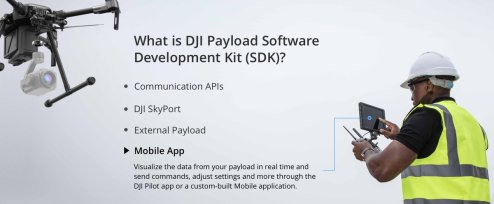 DJI onboard SDK and Skyport adapter 11