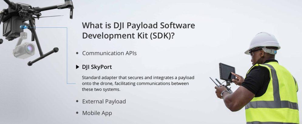 DJI onboard SDK and Skyport adapter 9