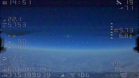 Russian sends his drone up to 33,691 feet - 0000