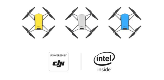 The Ryze Tello toy-drone is now available at DJI store covers