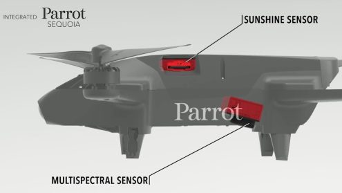 Press Release: Parrot unveils Parrot Bluegrass at the Commercial UAV Expo! 0005