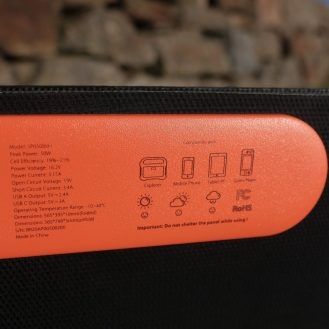 DroneDJ review of the Jackery 240W Battery Charger and Solar Panel 0005