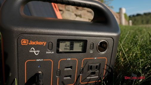 DroneDJ review of the Jackery 240W Battery Charger and Solar Panel 0016
