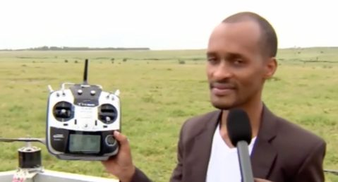 """""""Everything is perfect. I guess, it's time."""" says the creator of the first African passenger drone before taking off 0005"""
