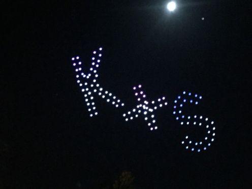 Intel 'Shooting Star' drones light up Pride last weekend in Folsom, California 0004