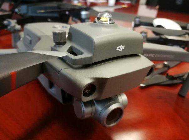 New DJI Mavic 2 'Enterprise edition photos show up providing us with more details of the new foldable drone 2