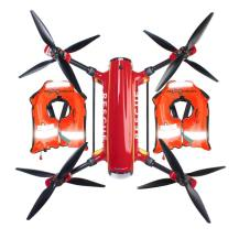 Auxdrone Lifeguard drone assists in the rescue of three people in Puerto de Sagunto, Spain 0006