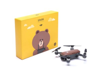 DJI Spark - DJI has teamed up with Line Friends to create brown Spark mini-drone0005
