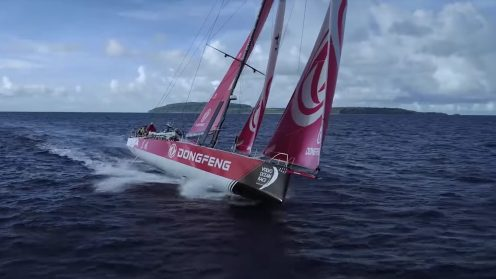 Check out the best drone video footage of the Volvo Ocean Race 0000