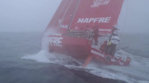 Check out the best drone video footage of the Volvo Ocean Race 0006