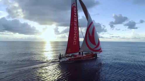 Check out the best drone video footage of the Volvo Ocean Race 0015