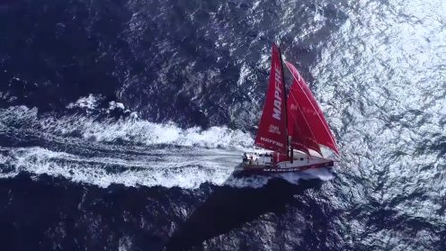 Check out the best drone video footage of the Volvo Ocean Race 0017