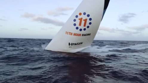Check out the best drone video footage of the Volvo Ocean Race 0021