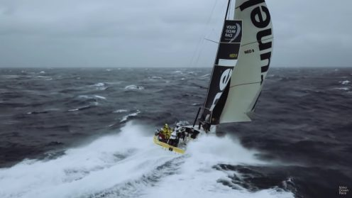 Check out the best drone video footage of the Volvo Ocean Race 0023