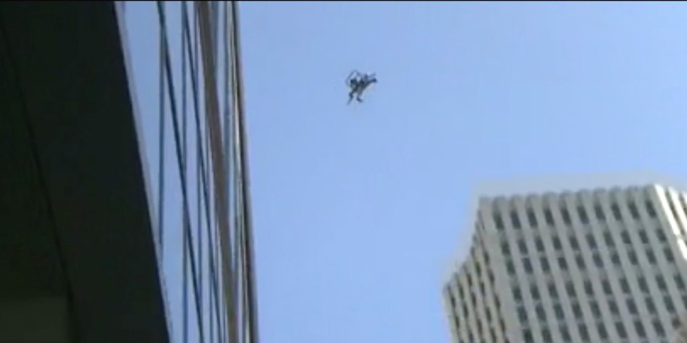 Drone falls out of the sky during inspection of sinking Millennium tower in San Francisco 1