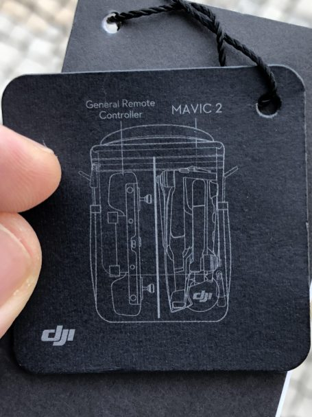 DJI mystery controller for the Mavic 2 b