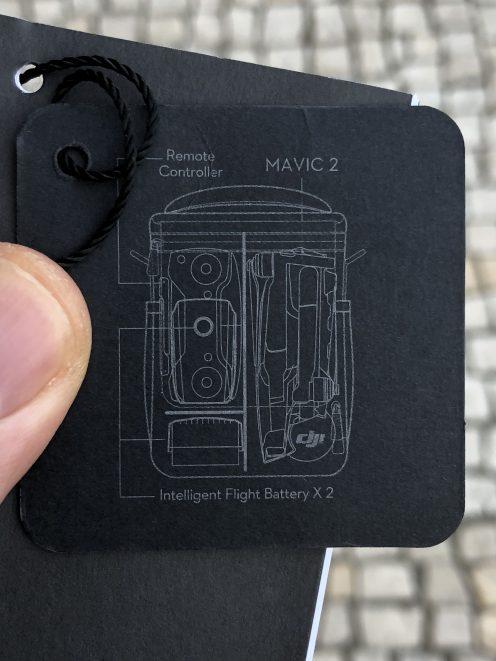 DJI mystery controller for the Mavic 2 c