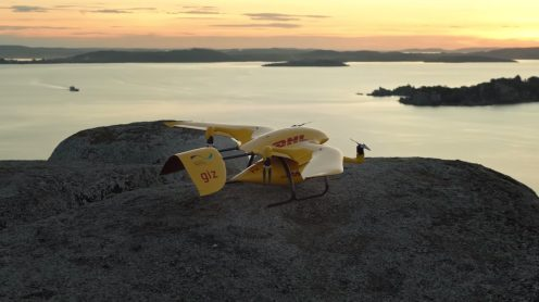 Deliver Future: DHL Parcelcopter flies 37 miles autonomously to a remote island in Lake Victoria 0000