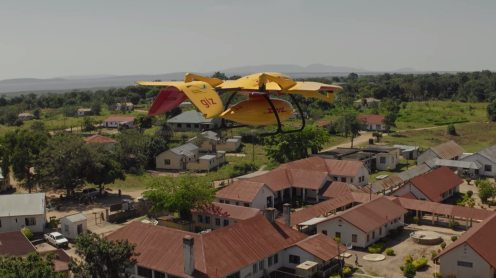 Deliver Future: DHL Parcelcopter flies 37 miles autonomously to a remote island in Lake Victoria 0005