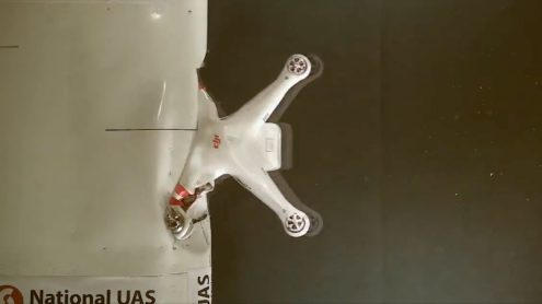 [Update: video] Even small drones, like a DJI Phantom, pose a risk to manned aircraft [video]