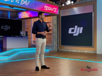 DJI Because Life is Big event Osmo Pocket launch NYC 0002