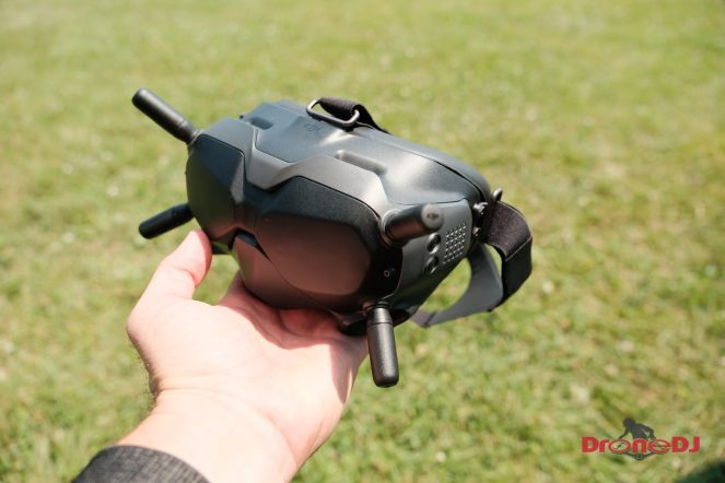 New DJI Digital FPV Transmission System with low latency and HD video for drone racing 0000