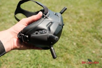 New DJI Digital FPV Transmission System with low latency and HD video for drone racing 0005