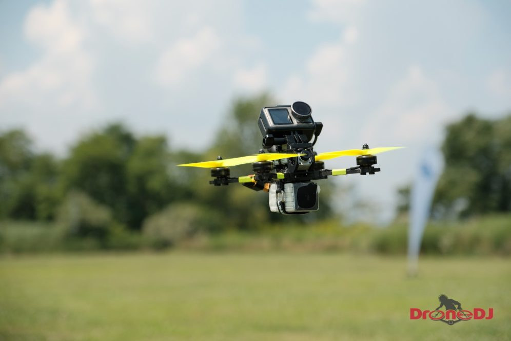 New DJI Digital FPV Transmission System with low latency and HD video for drone racing 0022
