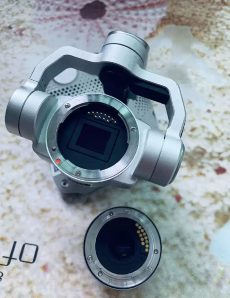 DJI camera with interchangeable lens system 3