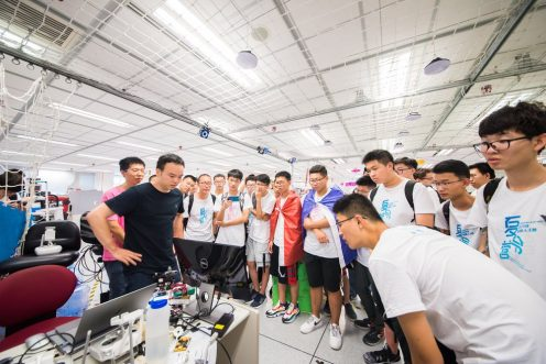 RoboMaster High School Robotics Camp