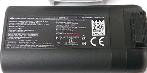 DJI Mavic Mini battery