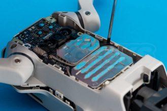 DJI-Mavic-Mini-drone-teardown-guide-repair-top-shell-release-side-1200x801