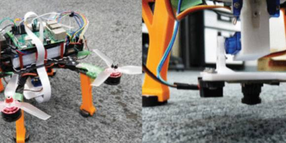 Researchers turn to cameras for improved drone landings