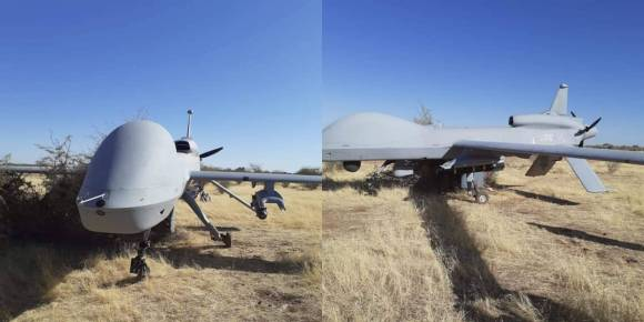 US Africa Command's MQ-1C drone malfunctions over Niger