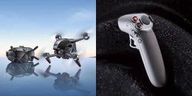 DJI in tribunale per il suo drone FPV inedito e il controller di movimento