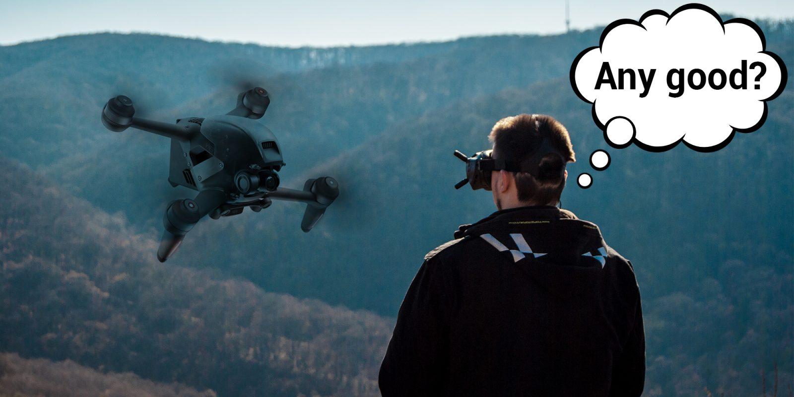 Perché un pilota FPV esperto non è entusiasta del drone FPV di DJI