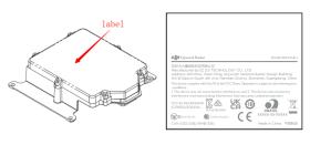 File DJI con FCC per il nuovo dispositivo radar rivolto verso l'alto