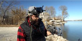 Nurk mette il drone DJI FPV alla prova della portata