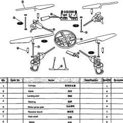 Quadcopter Schematic Diagram 2002 Chevrolet Venture Radio Wiring Review Wltoys V959 2 4g 4 Axis 4ch Rc With