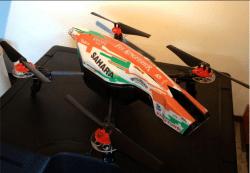 Custom Paint Job on AR Drone (Tony Nesta)