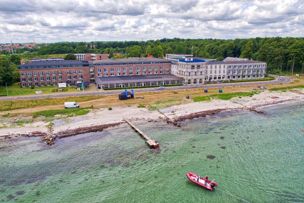 Hotel Nyborg strand set vandet